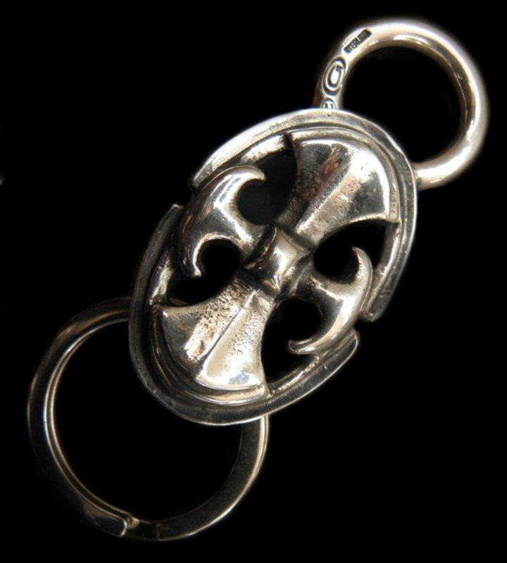 画像1: Loop Hook Battle-Ax Key Keeper