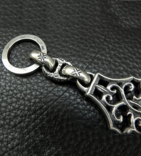 画像3: Half Size Arabesque With H.W.O Maltese Cross H.W.O, Chiseled Anchor Chain & Key Ring