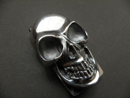 画像2: Giant Skull Money Clip Butterfly