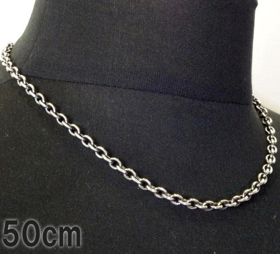 画像1: 7Chain & Half T-bar Necklace