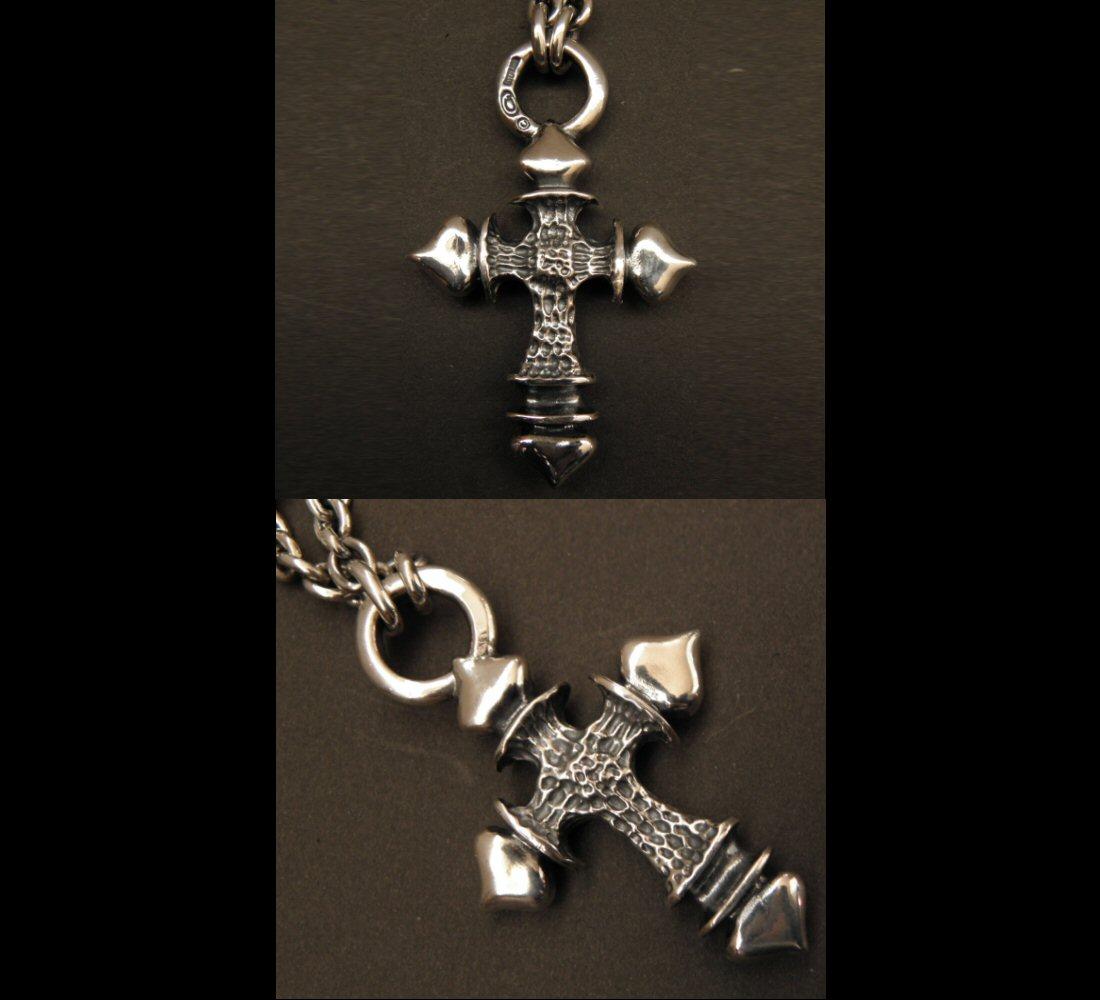画像4: Gaborartory Quarter FT Cross With 2Quarter Skulls & 6Chain Necklace