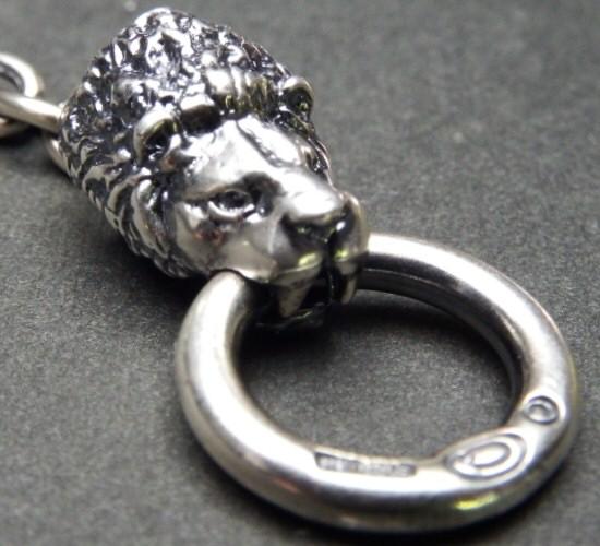 画像5: 6Chain with quarter lion & quarter T-bar necklace