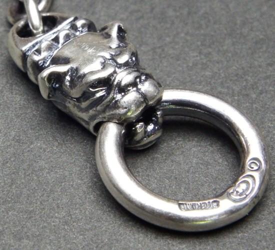 画像5: 6Chain with quarter old bulldog & quarter T-bar necklace
