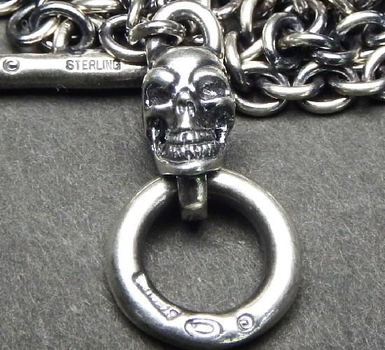 画像4: 3.9Chain with 1/8 skull & 1/16 Classic T-bar Necklace