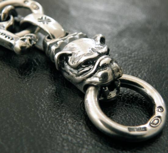 画像3: Half old bulldog with O-ring & 7chain necklace