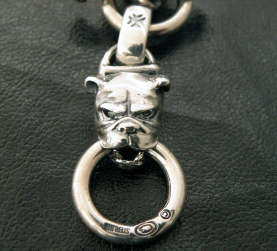 画像2: Half bulldog with O-ring & 7chain necklace