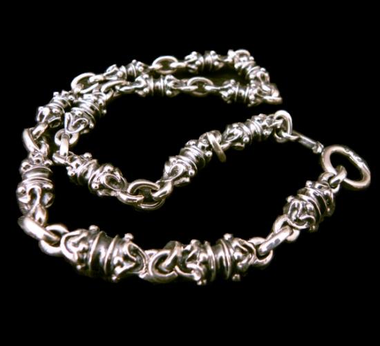 画像1: All Quarter Rollers Necklace