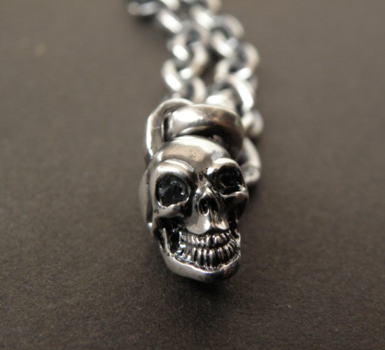 画像2: Quarter Skull & 6Chain Necklace