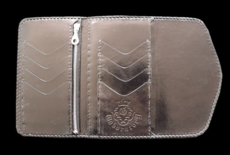 画像2: Stingray Cross Inlay Buffalo Long Wallet