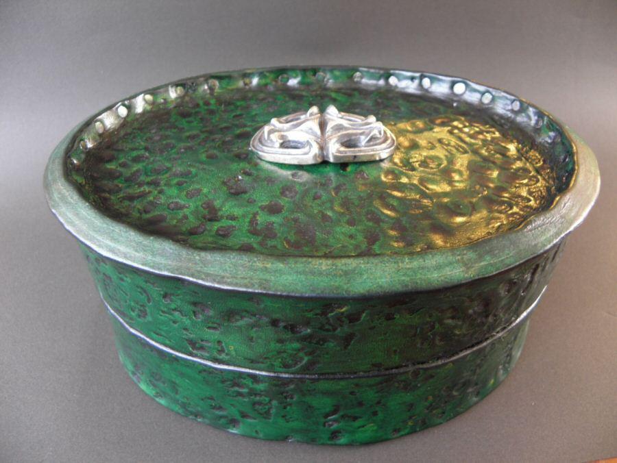 画像2: Gaboratory Leather Jewelry Box