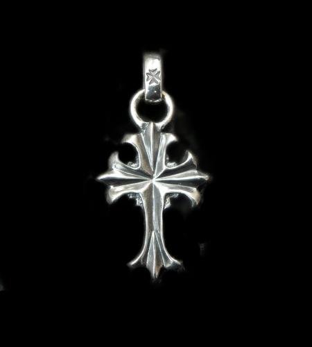 画像1: 1/9 Grooved Cross Pendant