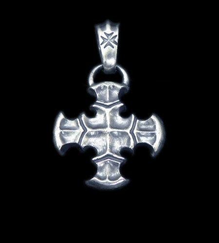 画像1: Quarter Battle-Ax Short Cross With H.W.O Pendant