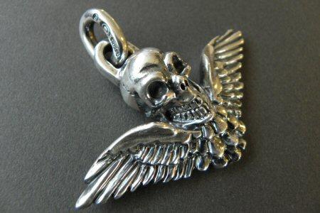 画像2: Wing Skull Pendant