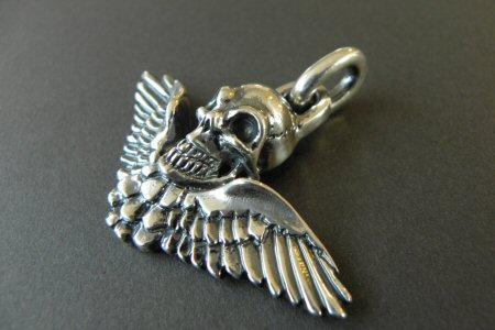 画像3: Wing Skull Pendant