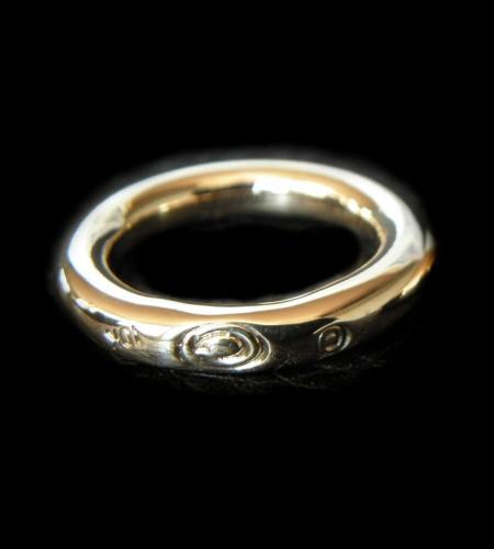 画像1: 10k Gold G-stamp Ring