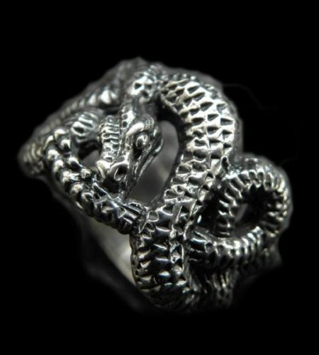 画像1: Snake Ring