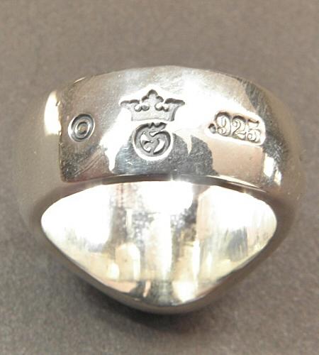 画像2: Cross Oval Signet Ring