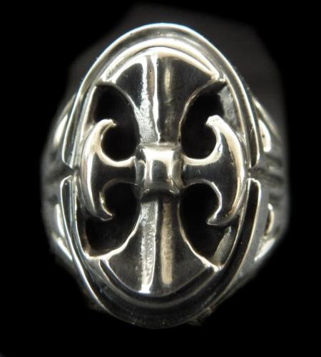画像1: Battle-Ax Large Signet Ring