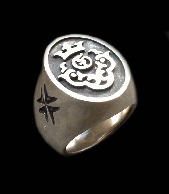 画像1: Atelier Mark Signet Ring