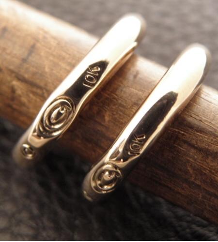 画像4: 10k Gold G-stamp Ring
