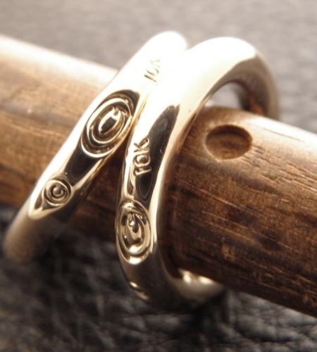 画像5: 10k Gold G-stamp Ring