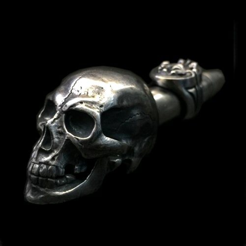 画像1: Old Large Skull Ideal Smoke Pipe