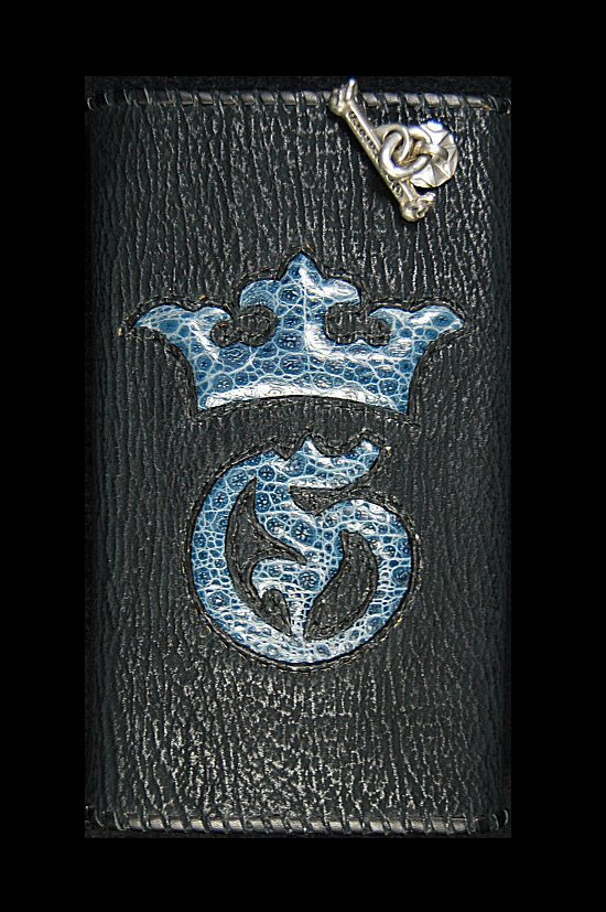 画像2: Frog G&Crown Inlay Shark Long Wallet