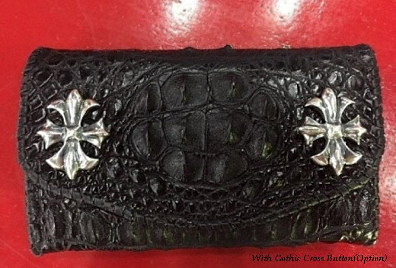 画像4: Crocodile Head Long Wallet