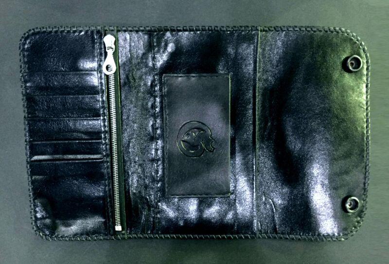 画像2: Crocodile Horn Back Long Wallet