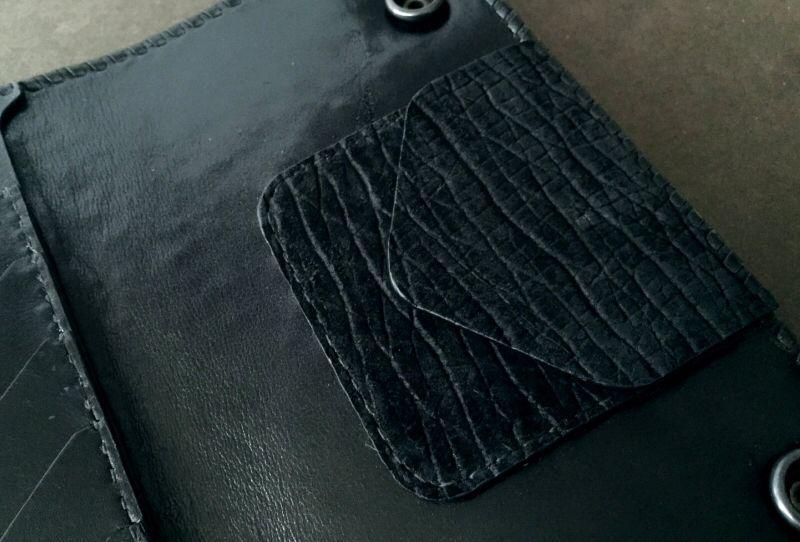画像4: Stingray G&Crown Inlay Hippo Long Wallet