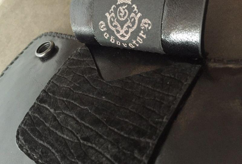 画像5: Stingray G&Crown Inlay Hippo Long Wallet