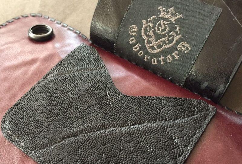 画像5: Hippo G&Crown Inlay Elephant Long Wallet