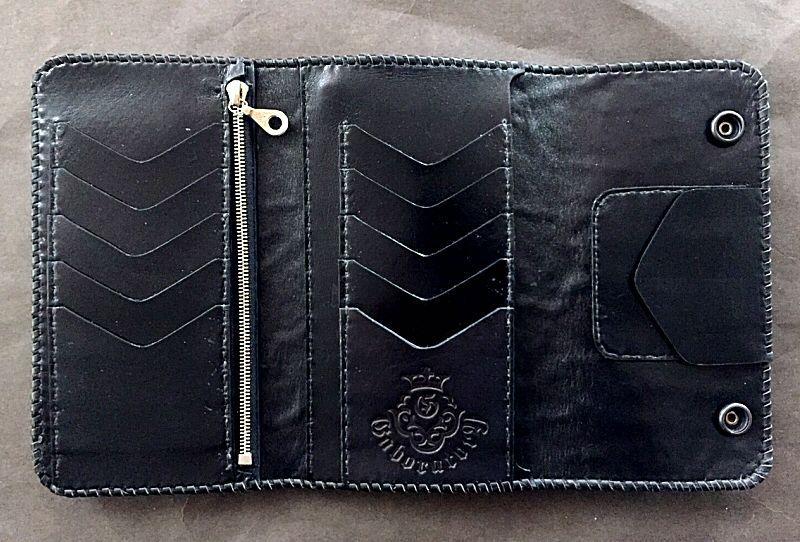 画像2: Elephant Plain Long Wallet (Gray)