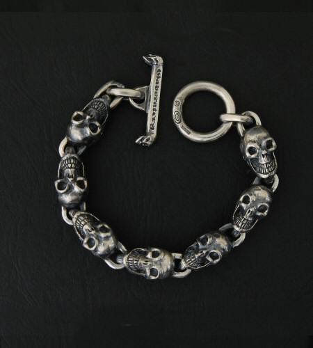 画像4: All Skulls Link Bracelet