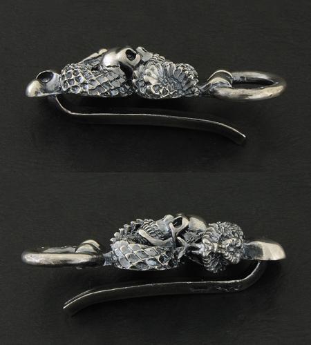 画像4: Skull On Snake Keeper