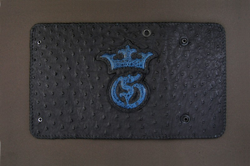 画像4: Frog G&Crown Inlay Ostrich Long Wallet