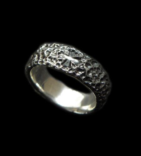 画像1: Chiseled H.W.O Ring