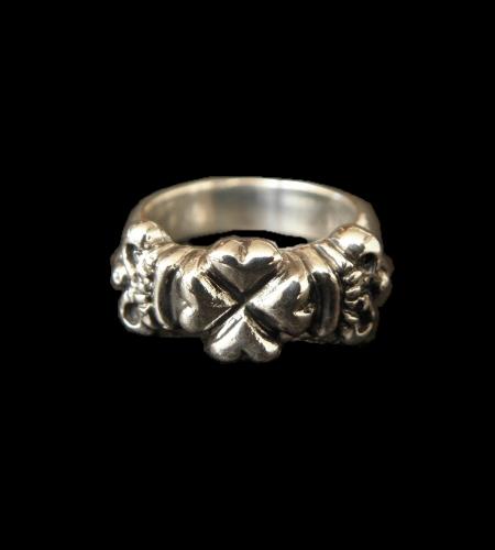 画像1: Small 4Heart Crown Ring